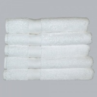 All My Linen's Luxury White Towels and Towel Sets