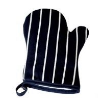 Butchers Stripe Oven Gauntlets