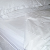 Pure Egyptian Cotton Deep Fitted Sheets, 200TC